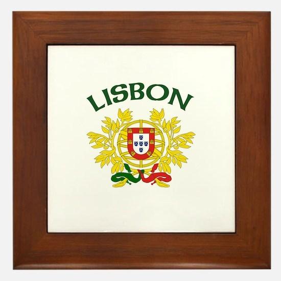 Lisbon, Portugal Framed Tile