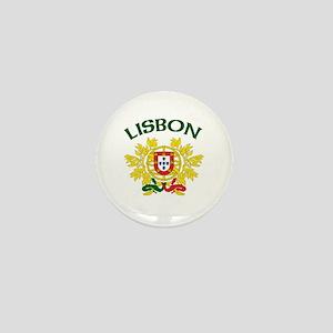 Lisbon, Portugal Mini Button