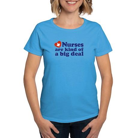 Cute Nurse Women's Dark T-Shirt