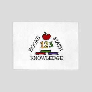 Knowledge 5'x7'Area Rug