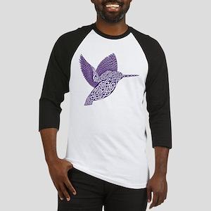 celtic knot kingfisher purple Baseball Jersey