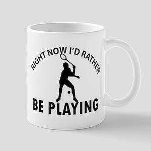 Squash playing designs Mug