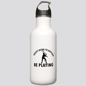 Squash playing designs Stainless Water Bottle 1.0L