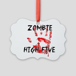 Zombie High Five Ornament
