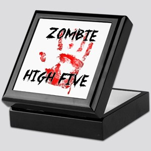 Zombie High Five Keepsake Box