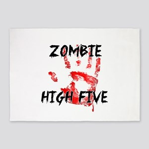 Zombie High Five 5'x7'Area Rug