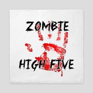 Zombie High Five Queen Duvet