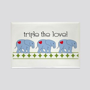 Triple The Love! Magnets
