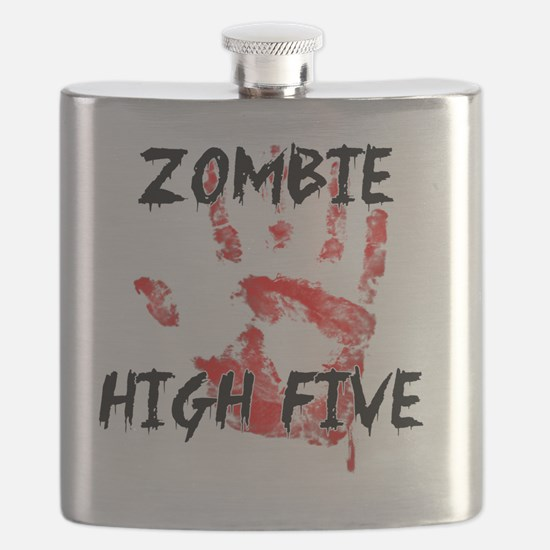 Zombie High Five Flask