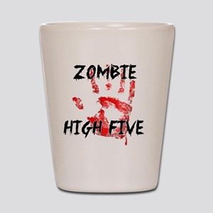 Zombie High Five Shot Glass