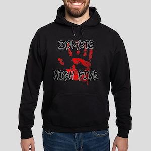 Zombie High Five Hoodie (dark)