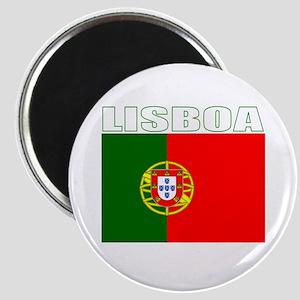 Lisboa, Portugal Magnet