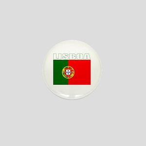 Lisboa, Portugal Mini Button