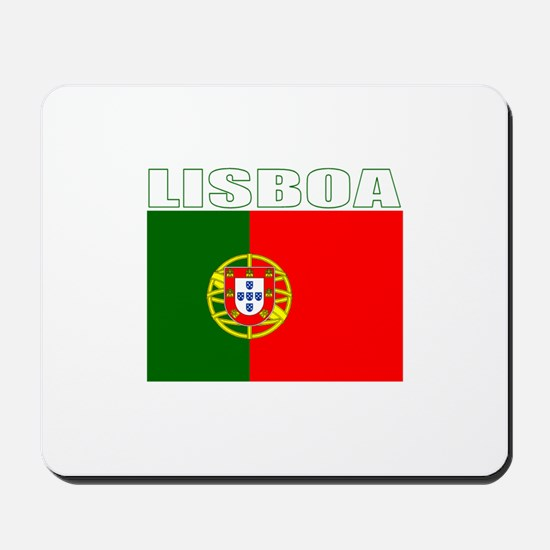 Lisboa, Portugal Mousepad