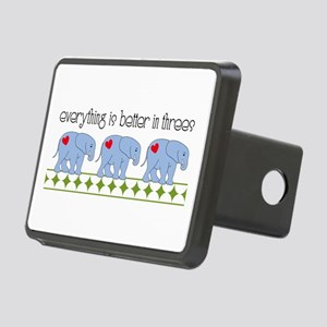 Everything Is Better In Threes Hitch Cover