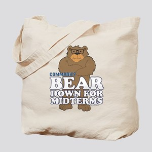 Bear Down Midterms Tote Bag