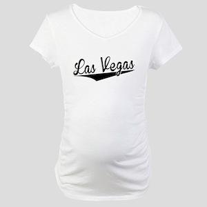 Las Vegas, Retro, Maternity T-Shirt