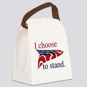 Stand National Anthem Canvas Lunch Bag
