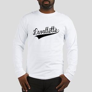 Lavallette, Retro, Long Sleeve T-Shirt