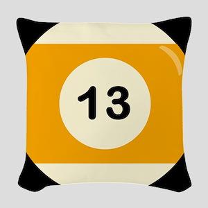 Thirteen Ball Woven Throw Pillow
