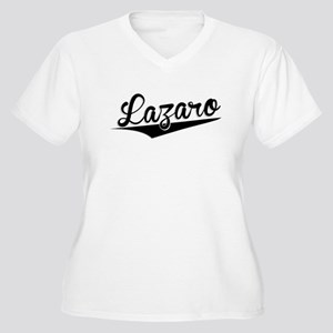 Lazaro, Retro, Plus Size T-Shirt