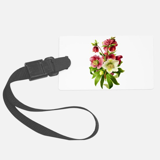 Hellebore Bouquet Luggage Tag