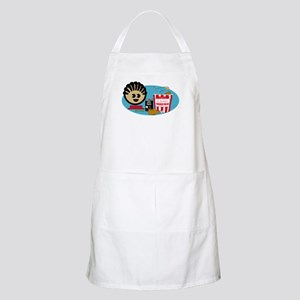 Fried Chicken and Beans BBQ Apron