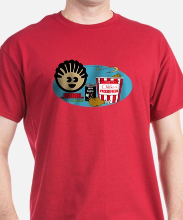Fried Chicken and Beans  T-Shirt
