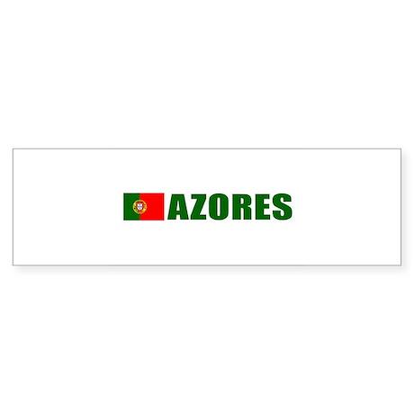 Azores, Portugal Bumper Sticker