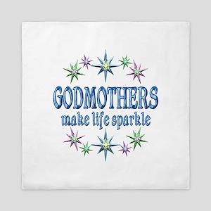 Godmothers Sparkle Queen Duvet