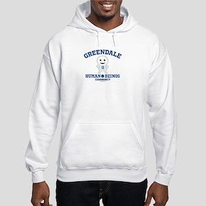 Greendale Human Beings Hooded Sweatshirt