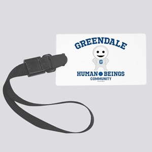 Greendale Human Beings Large Luggage Tag