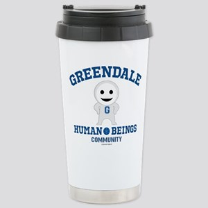 Greendale Human Beings Stainless Steel Travel Mug