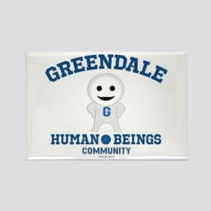 Greendale Human Beings Rectangle Magnet