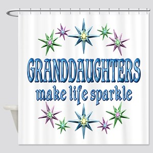 Granddaughters Sparkle Shower Curtain