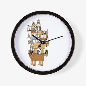 Bla Bla Bla Wall Clock