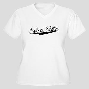 Leilani Estates, Retro, Plus Size T-Shirt