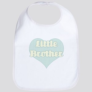 little brother -blue and yellow Bib