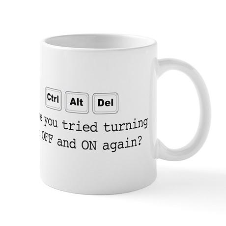 Ctrl Alt Del Mugs By Cursoryrhymes