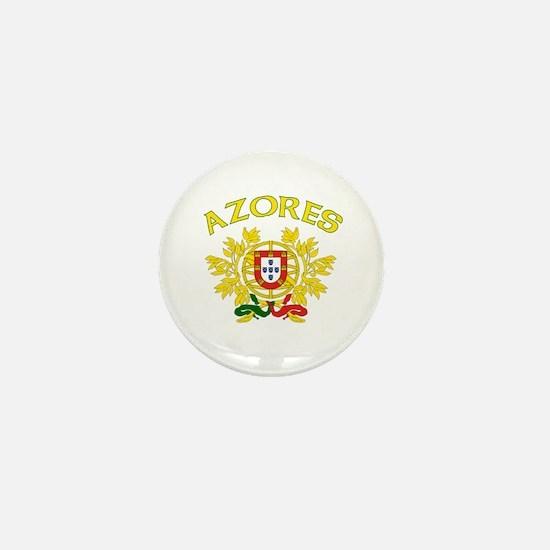 Azores, Portugal Mini Button