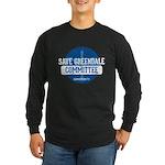 Save Greendale Committee Long Sleeve Dark T-Shirt