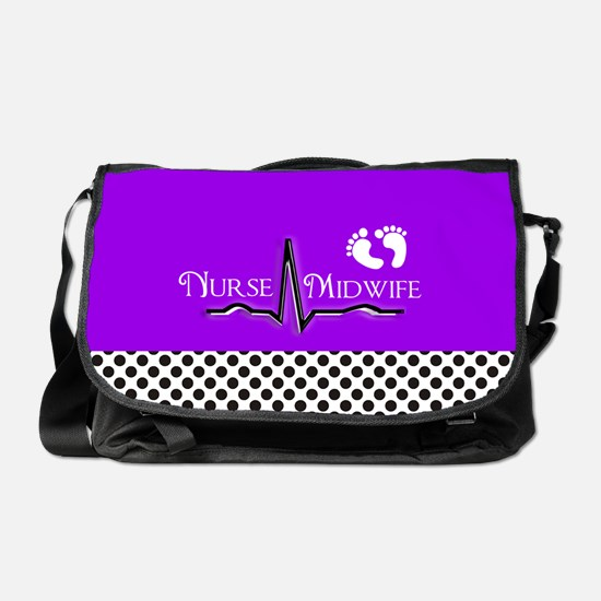 Nurse midwife 7 Messenger Bag