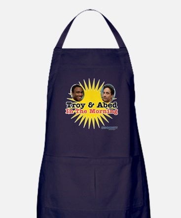 Troy and Abed in the Morning Apron (dark)