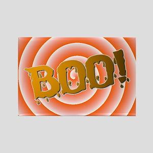 BOO! HALLOWEEN Rectangle Magnet