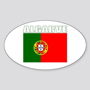 Algarve, Portugal Oval Sticker