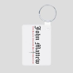 John Matthew Aluminum Photo Keychain Keychains