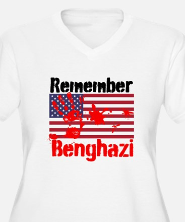 Remember Benghazi Plus Size T-Shirt