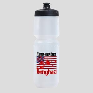 Remember Benghazi Sports Bottle