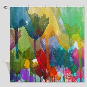 Tulip Meadow Shower Curtain