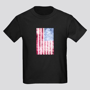4th of July - American Firework Flag T-Shirt
